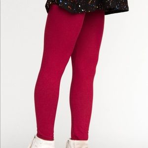 Leggings Red Wine